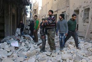 Phe nổi dậy Syria tuyệt vọng giãy giụa trong gọng kìm siết chặt