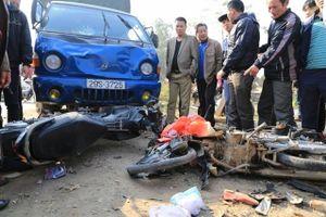 Tạm giữ hình sự tài xế gây tai nạn khiến 3 người tử vong ở Chương Mỹ