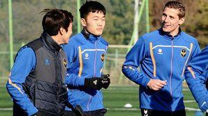 Xuân Trường cảm thấy thoải mái tại Incheon United
