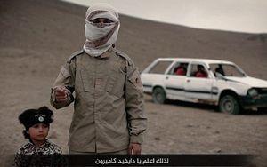 Cậu bé IS 4 tuổi người Anh bị ép kích nổ bom xe nổ tung 4 tù nhân?