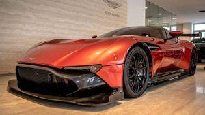 Aston Martin Vulcan mở bán đầu năm với giá 2,4 triệu USD