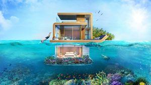Chiêm ngưỡng nhà dưới nước cực sang ở Dubai