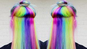 Phong trào nhuộm tóc cầu vồng khiến giới trẻ mê tít