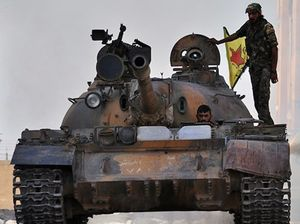 Người Kurd ở Syria bắt đầu tấn công phe đối lập tại thị trấn Azaz