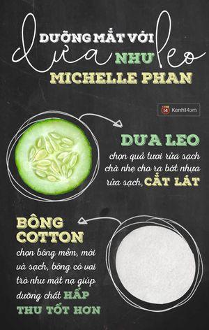 Học Michelle Phan cách trị mắt thâm quầng sưng húp rẻ bèo