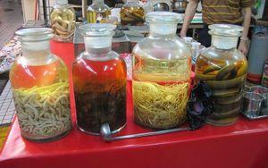 Tham quan những khu chợ bán thực phẩm siêu kinh dị