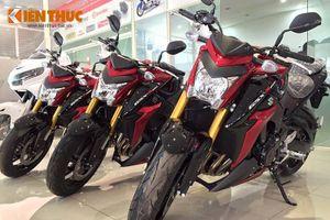 """Suzuki GSX-S1000 """"hàng ngoài"""" rẻ hơn chính hãng 30 triệu"""