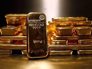 Giá vàng suy yếu nhưng vẫn có tuần tăng tốt nhất 4 năm qua
