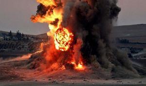 Nga công bố loạt video ném bom tấn công khủng bố tại Syria