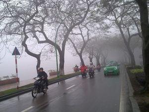 Dự báo thời tiết đêm 13 ngày 14/2: Hà Nội ngày có mưa vài nơi