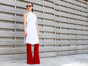 Váy áo du xuân đẹp và cá tính cho bạn gái chân ngắn