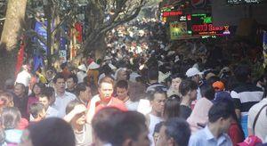 Lễ hội chùa Hương 2016: Chưa phát hiện trường hợp nào trộm cắp đồ
