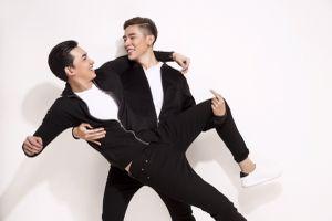 'Đôi trai đẹp' Võ Cảnh - Minh Trung thân thiết trong loạt ảnh mới