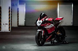 """Honda CBR1000RR độ xế đua """"siêu độc"""" tại Sài Gòn"""