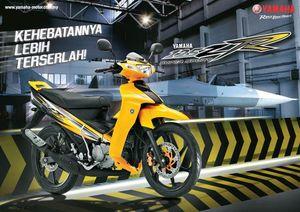 Xe côn tay 2 kỳ Yamaha 125ZR 2016 có màu mới, giá từ 41,4 triệu Đồng