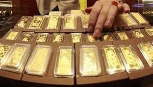 Giá vàng chiều 29-4 tiếp tục tăng vọt, USD giảm