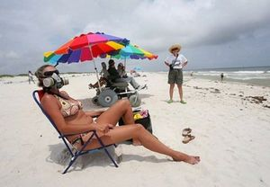 Những hình ảnh chỉ có thể tìm thấy trên bãi biển