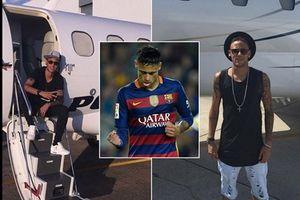 Bị phong tỏa phần lớn tài sản, Neymar vẫn sắm chiếc máy bay thứ hai