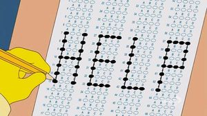 Phải làm gì để vượt qua một bài thi trắc nghiệm mà không may quên mất kiến thức?