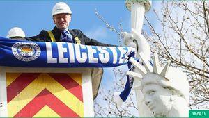 Thành Leicester lộng lẫy chờ đón tân vương Ngoại hạng Anh