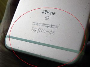 Vỏ iPhone 6s vàng hồng kém bền