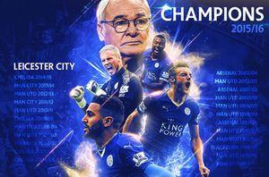 10 kỷ lục được Leicester City thiết lập ở mùa giải 2015-2016