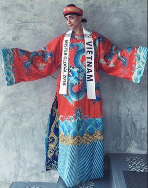 Đại diện Việt Nam nổi bật lấn át các thí sinh tại Mister Global 2016