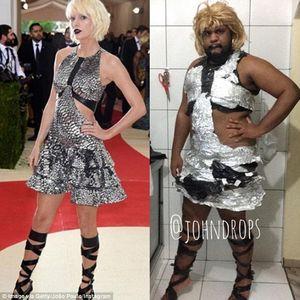 Hài hước với hình ảnh anh chàng nhái trang phục của sao nữ Hollywood