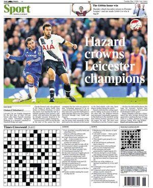 Báo chí châu Âu hết lời khen ngợi Leicester City và HLV Ranieri