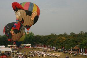 Độc đáo: Ngắm toàn cảnh cố đô Huế từ khinh khí cầu