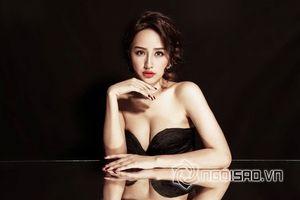 Hoa hậu Mai Phương Thúy khoe vòng một căng tràn