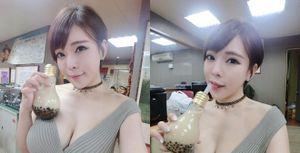 'Hot girl trà sữa bóng đèn' xuất hiện, dân tình như 'đảo điên'