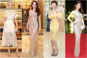 """6 NTK Việt là """"bậc thầy"""" của thời trang xuyên thấu"""