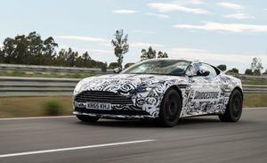 Cận cảnh siêu xe Aston Martin DB11 2017