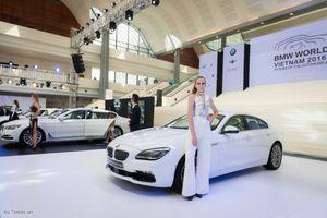 Khai mạc triển lãm BMW World Vietnam 2016 tại Hà Nội, nhiều xe, có lái thử