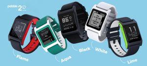 Pebble 2, Pebble Time 2, Pebble Core: thêm tính năng, tăng màn hình, tập trung sức khỏe, giá 69$+