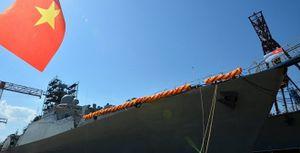 Nga hạ thủy tàu Gepard thứ 4 cho Việt Nam