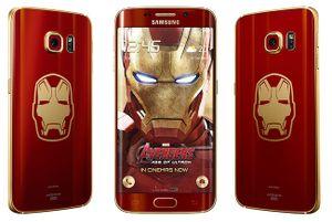 Samsung ra mắt Galaxy S7 edge dành riêng cho fan của Người dơi