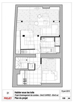 Học cách thiết kế căn hộ áp mái đẹp và tiện nghi đến không ngờ của kiến trúc sư nổi tiếng