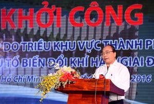 Khởi công Dự án Giải quyết ngập cho 6,5 triệu dân TP.HCM