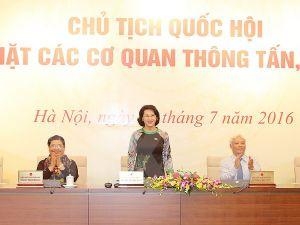 Chủ tịch Quốc hội thông tin về hoạt động của Quốc hội khóa XIV