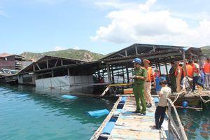 Bình Thuận khẩn trương khắc phục hậu quả vụ lật bè gây chết người