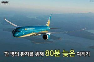 Diễn biến câu chuyện Vietnam Airlines cứu hành khách Hàn qua ảnh