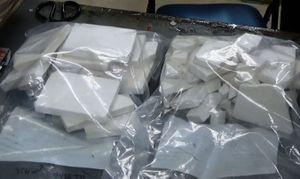 Bắt nữ hành khách vận chuyển gần 5kg heroin