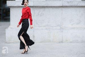 Khó mà bình chọn được quý cô Hà Nội hay Tp. Hồ Chí Minh có street style chất nhất tuần này