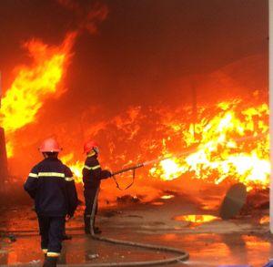 Thông tin mới về vụ hỏa hoạn tại Công ty sản xuất nến ở Hải Phòng