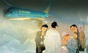 Vietnam Airlines lùi chuyến bay để vận chuyển hành khách bị thương nặng