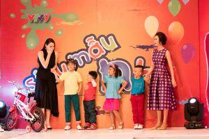 MC Thanh Mai trẻ trung làm giám khảo siêu mẫu nhí
