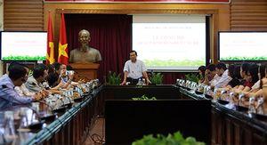 Bộ Văn hóa, Thể thao và Du lịch có Chánh Văn phòng mới