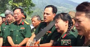 Bài hát xúc động ngày giỗ trận các liệt sỹ Sư đoàn 356